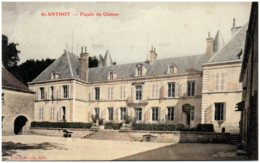 21 SAINT-ANTHOT - Façade Du Chateau - Francia