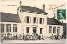 21 POUILLY-en-AUXOIS - Ecole Des Filles - France