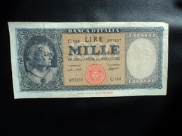 ITALIE : 1000 LIRE   15.9.1959   P 88c / CI 62 BS 470    TTB - [ 2] 1946-… : République