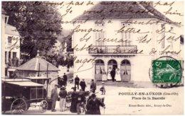 21 POUILLY-en-AUXOIS - Place De La Bascule - Autres Communes