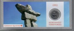 Canada 1992 1/4 $ Nortwest Territories - Canada