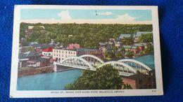 Bridge St.. Bridge Over Moira River Belleville Ontario Canada - Ontario