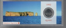 Canada 1992 1/4 $ Quebec - Canada