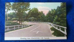 Greetings From Coaticook P.Q Canada - Quebec