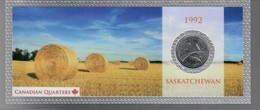 Canada 1992 1/4 $ Saskatchewan - Canada