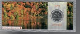Canada 1992 1/4 $ Ontario - Canada