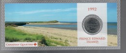Canada 1992 1/4 $ Prince Edward Island - Canada