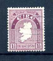 1922-23 IRLANDA N.42 Fil. 1 USATO - Usati