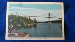 Thousand Islands International Bridge From Ivy Lea Canada - Thousand Islands