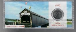 Canada 1992 1/4 $ New Brunswick - Canada