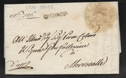DA CIVITANOVA A MORROVALLE - 7.4.1819. - Italy