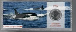 Canada 1992 1/4 $ British Columbia - Canada