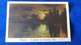 Souvenir St. Gabriel De Brandon Que. Canada - Quebec