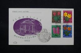 LUXEMBOURG - Enveloppe FDC EN 1955 , Flore - L 28070 - FDC