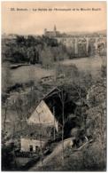 21 SEMUR - La Vallée De L'Armançon Et Le Moulin Dupin - Semur