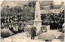 21 MONTLAY-en-AUXOIS - Inauguration Du Monument - Altri Comuni