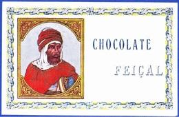 Old Label/ Ancienne  Etiquette - CHOCOLATE Feiçal / Portugal, 1880 To 1910 - Andere Verzamelingen