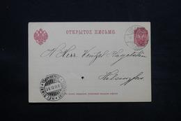 FINLANDE - Carte De Correspondance De Iisalmi Pour Helsinki En 1901 ( Administration Russe ) - L 28074 - Storia Postale