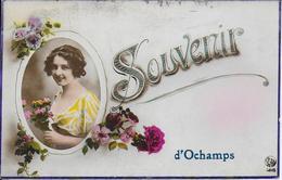 Souvenir D' OCHAMPS . 1926 Vers BXL ( Famille PALLANT SABLON ) . Voir Verso . - Libin