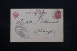 FINLANDE - Carte De Correspondance De Saint Michel En 1901 ( Administration Russe ) - L 28075 - Storia Postale