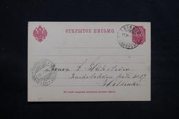 FINLANDE - Carte De Correspondance De Kannus En 1903 ( Administration Russe ) - L 28077 - Storia Postale