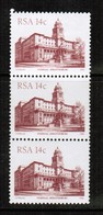 SOUTH AFRICA  Scott # 580** VF MINT NH STRIP Of 3 (Stamp Scan # 495) - South Africa (1961-...)