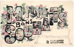 21 Mille Bons Souhaits De LACANCHE - Other Municipalities