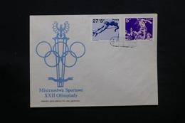 POLOGNE - Enveloppe FDC  Jeux Olympiques ,  1983 - L 28080 - FDC