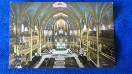 Notre Dame Church Montreal Canada - Montreal