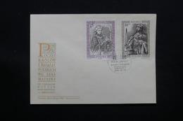 POLOGNE - Enveloppe FDC , Royauté , 1986 - L 28082 - FDC