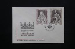 POLOGNE - Enveloppe FDC , Royauté , 1988 - L 28083 - FDC