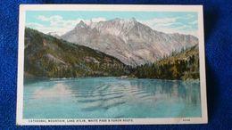 Cathedral Mountain Lake Atlin White Pass & Yukon Route Canada - Yukon