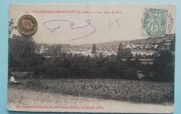 Villeneuve-sur-Bellot, Vuc Prise Du Polo,, 1907 - Francia