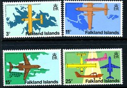 Falkland Islands 1979 Opening Of Stanley Airport Set Of 4, MNH, SG 360/3 - Falkland