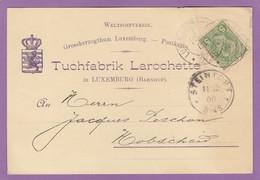 TUCHFABRIK,LAROCHETTE. - 1895 Adolphe Profil