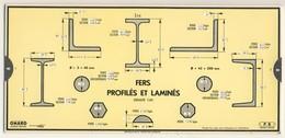Abaques - OMARO -           Fers Profilés Et Laminés (Carton) - Technical Plans