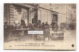 La Guerre Dans Le Nord - Sur Le Front Des Armées Britanniques - La Cusine En Plein Air - First World War Postcard - Oorlog 1914-18