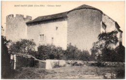 21 MONT-SAINT-JEAN - Chateau Féodal - Autres Communes