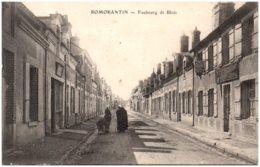 41 ROMORANTIN - Faubourg De Blois - Romorantin