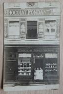 """Bruxelles - Chocolaterie, Boulangerie, Patisserie """"DEPAS-DELFORGE""""  CHOCOLAT SENEZ-STURBELLE - Façade De Magasin - 2 Sca - Shops"""
