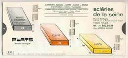 Abaques - OMARO -           Plats  -  Barres (Carton) - Technical Plans