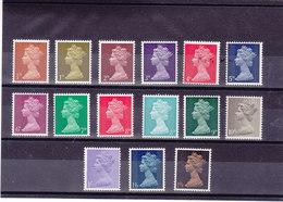 GB 1967 ELIZABETH II Yvert 471-474 + 476-486 NEUF** MNH - 1952-.... (Elizabeth II)