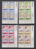 Faroe Islands 1982 Medieval Balad 4v (corners) ** Mnh (42571I) - Faeroër