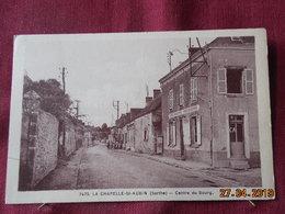 CPSM - La Chapelle-Saint-Aubin - Centre Du Bourg - Andere Gemeenten