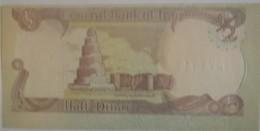 Billet De République D'IRAK De 1/2 Dinar Neuf/UNC Pick 68a - Iraq