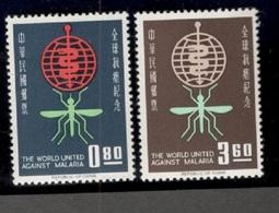 Taiwan1962:Michel 457-8mnh** - 1945-... Republiek China