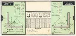 Abaques - OMARO -         Cornières Et Profils Spéciaux (Carton) - Technical Plans