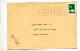 Lettre Flamme Poste Aux Armees N° Secteur Postal - Postmark Collection (Covers)