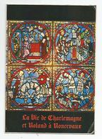 38 Isère - Voiron Caves De La Grande Chartreuse  Vitrail De Charlemagne D'après Les Vitraux Cathédrale Chartres - Voiron