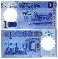 Libye Libya Billet 1 Dinar 2019 POLYMER COMMEMORATIVE NEUF UNC - Libië